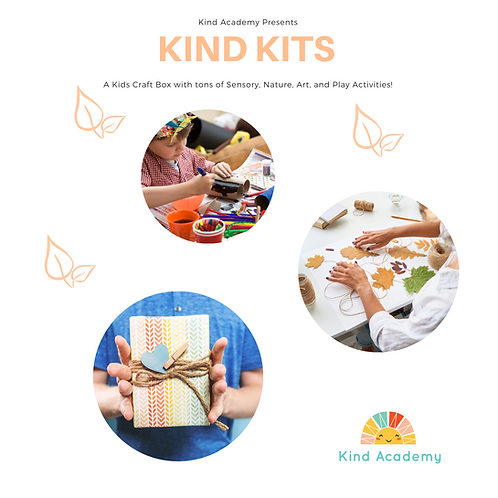 July Summer Sensory Homeschool Kit