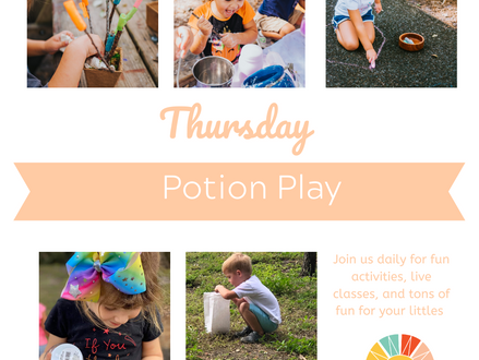 Virtual Spring Break: Potion Play