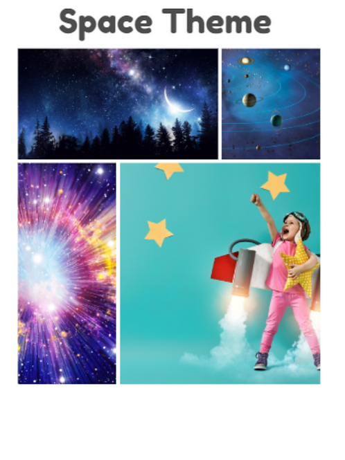 Sensory Summer: Outer Space Theme