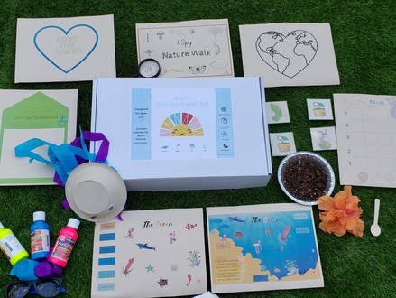 April's Homeschool Kit Unboxing
