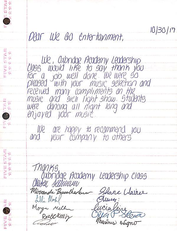 Oxbridge Academy West Palm Beach, FL testimonial