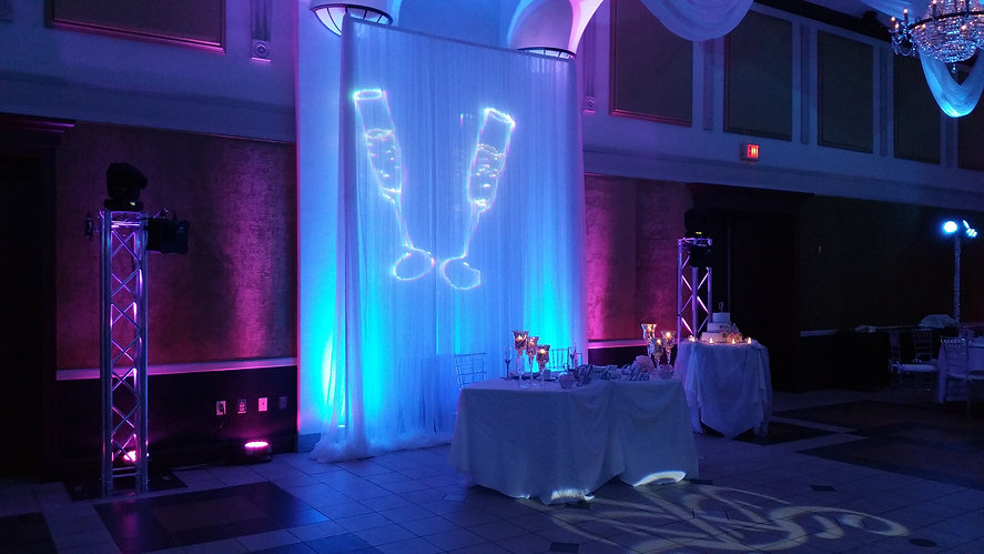 We Go Entertainment Wedding Lighting Laser