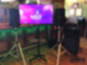 Audience monitor karaoke dj