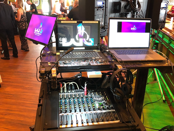 We Go Entertainment professional Karaoke DJ equipment