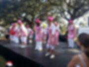 Ladies of Forrest Ridge community dancers.