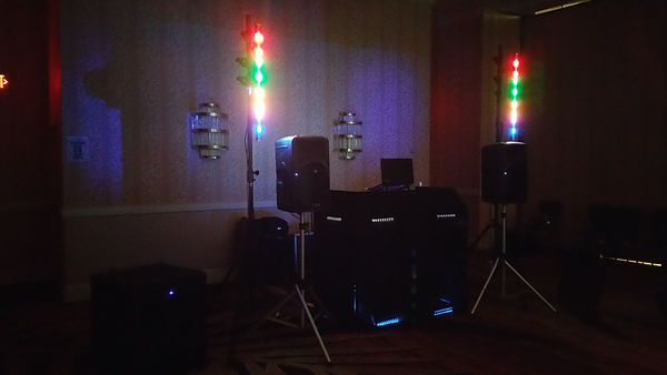 One of the We Go Entertainment sound system
