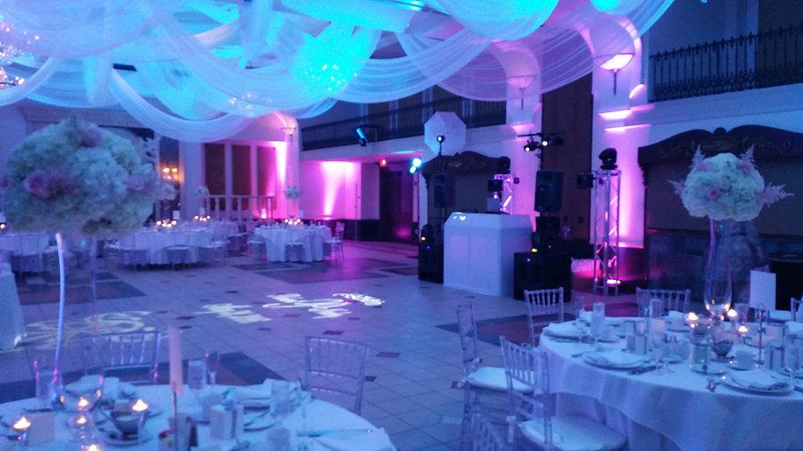 We Go Entertainment Wedding Lighting. Uplights