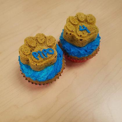Mini torta con muffin de patita