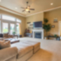 Real Estate video upscale living room