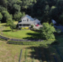 Real Estate drone front of house image