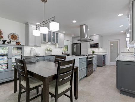 Snazzy, modern kitchen remodel in Corvallis, Oregon