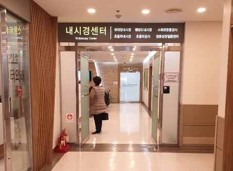 고대안암병원 수면내시경 검사 동행기