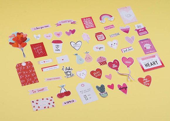 Sticker Die Cut - Love (không keo dán)