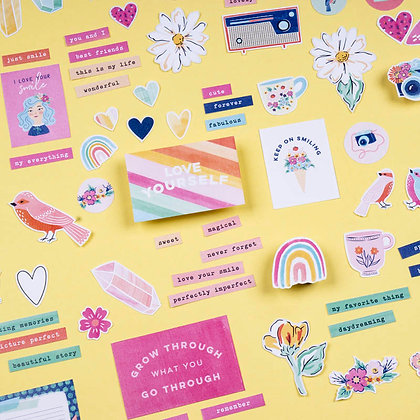 Sticker Die Cut - Love Yourself (không keo dán)