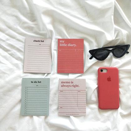 Giấy Note 4 Màu