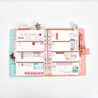 LAYOUT SỔ PLANNER THÁNG 8 - WEEKLY