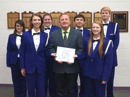 LHS Earns 27th Consecutive Superior (I) Rating during District  XV Contest