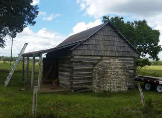 San Felipe De Austin Historic Log Cabin Restoration.
