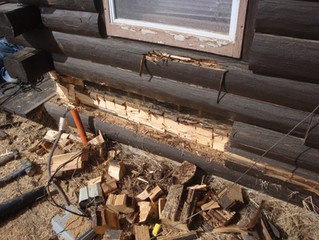 Is it OK to paint a log cabin or log home?