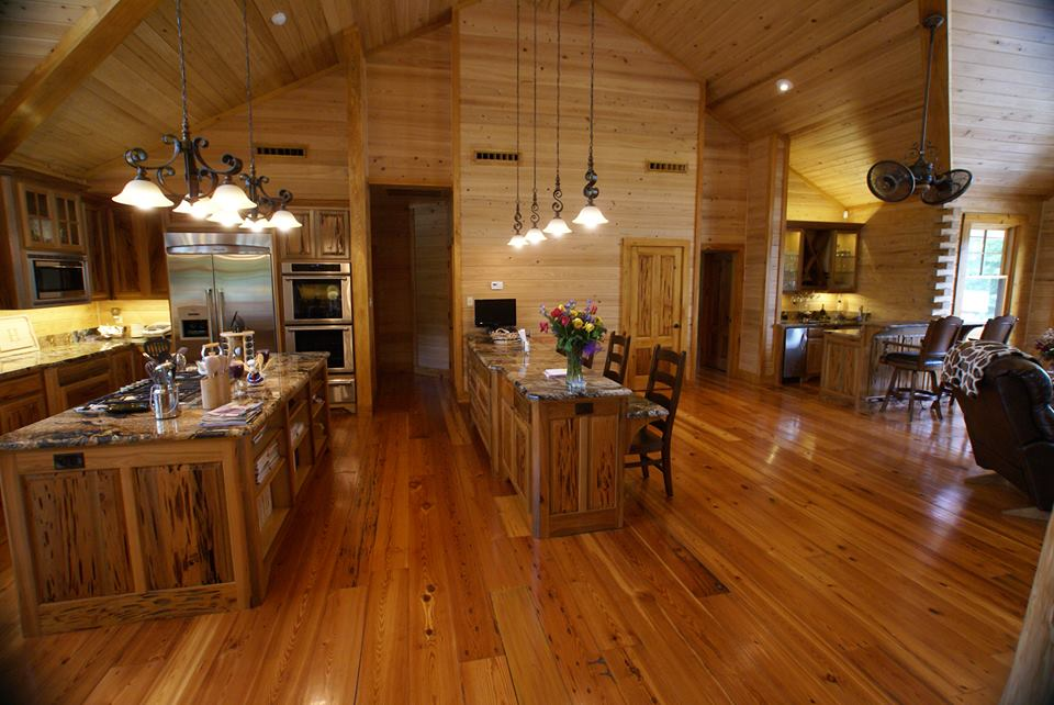Custom Cypress Log Home