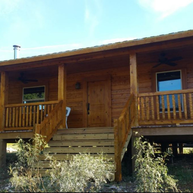 log home shed roof porch