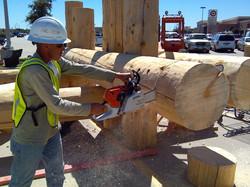 Log Truss Manufacture