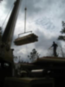 Cypress log home package