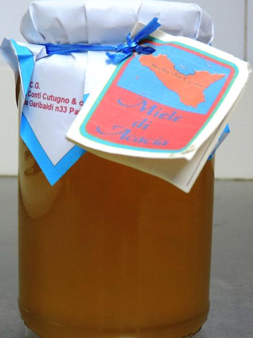 miele di acacia ZAFFERANA ETNEA 500g