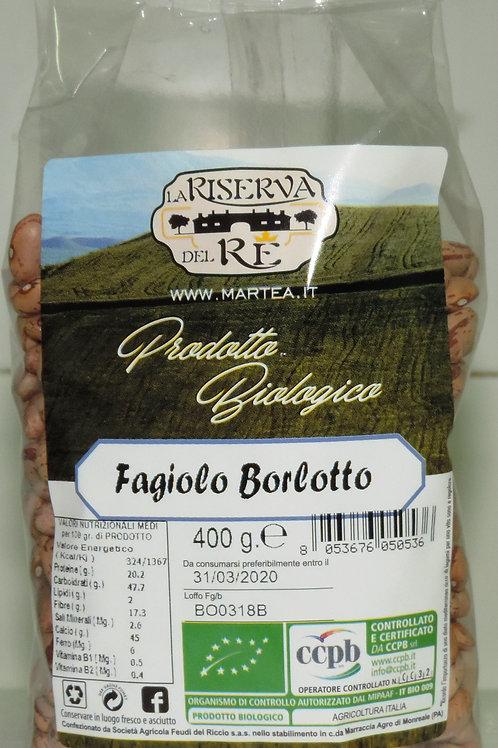 FAGIOLI FAGIOLO BORLOTTO BIOLOGICO BIOLOGICI BIO  400 g