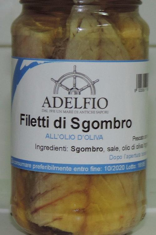 FILETTI DI SGOMBRO ALL' OLIO DI OLIVA ( Sicilia che gusto ) 200 G