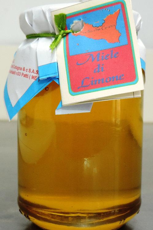 miele di limone ZAFFERANA ETNEA 500g