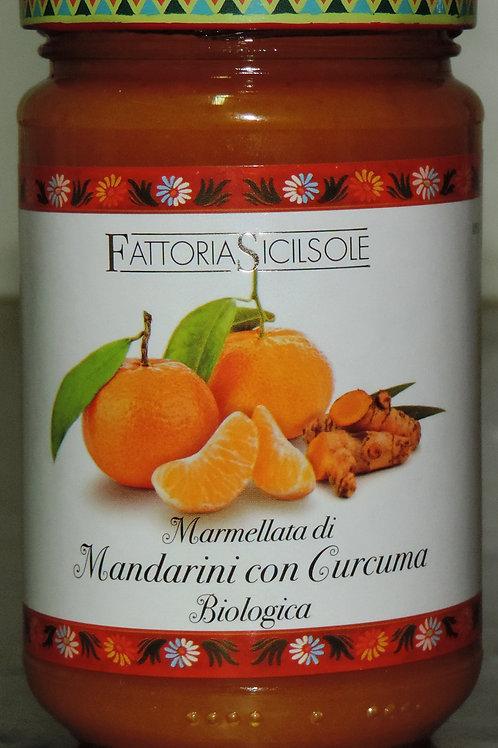 MARMELLATA MANDARINI CON CURCUMA   BIOLOGICA   (Sicilia che gusto ) 370 g