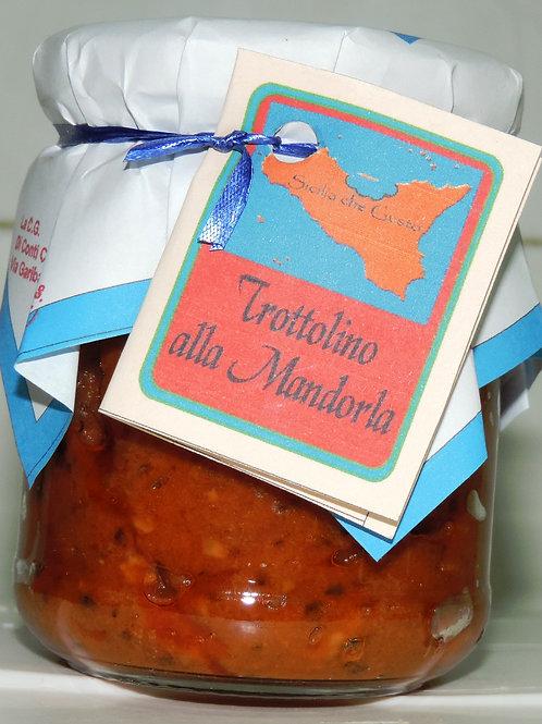 """SUGO PRONTO """" TROTTOLINO ALLA MANDORLA """" ( Sicilia che gusto ) 200 G"""