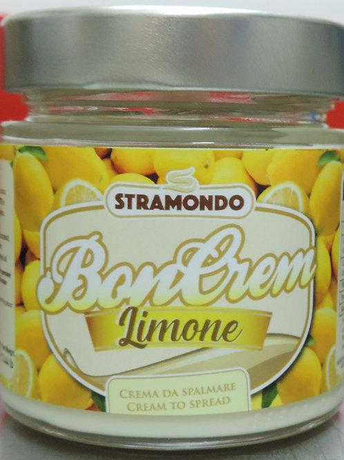 Crema spalmabile al limone senza glutine senza olio di palme 200g