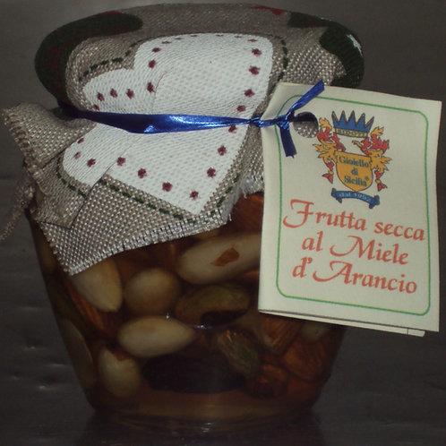 FRUTTA SECCA AL MIELE DI ARANCIO  250g