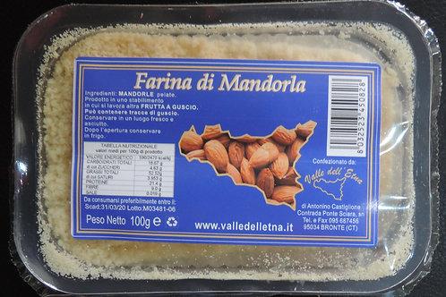 farina di mandorle NATURALE 100 g
