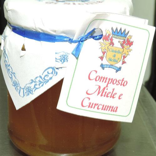 COMPOSTO MIELE E CURCUMA 250 G
