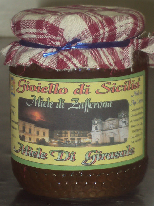 miele di girasole  ZAFFERANA ETNEA  500g