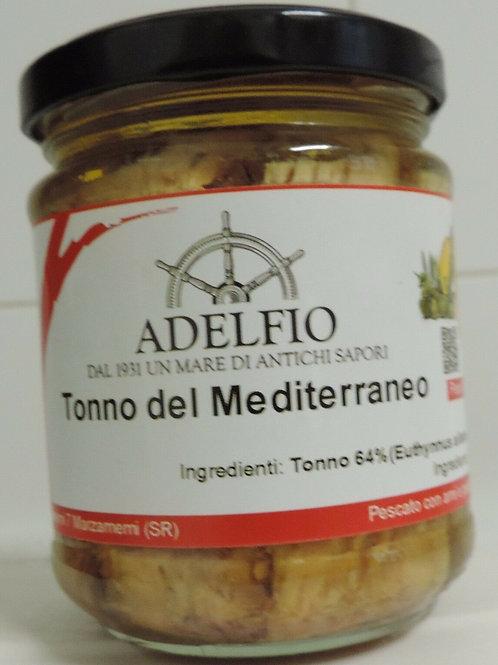 TONNO DEL MEDITERRANEO ALL' OLIO DI OLIVA  200 G