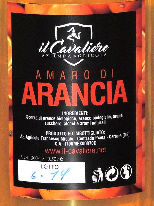 """AMARO DI ARANCIA """" IL CAVALIERE """" ( Sicilia che gusto ) VOL 30 % 50CL"""