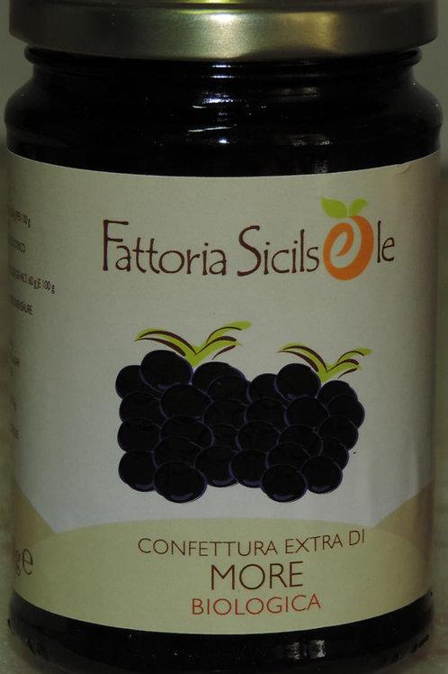 CONFETTURA DI MORE BIOLOGICA MARMELLATA SICILIA 370 g BUONISSIMA