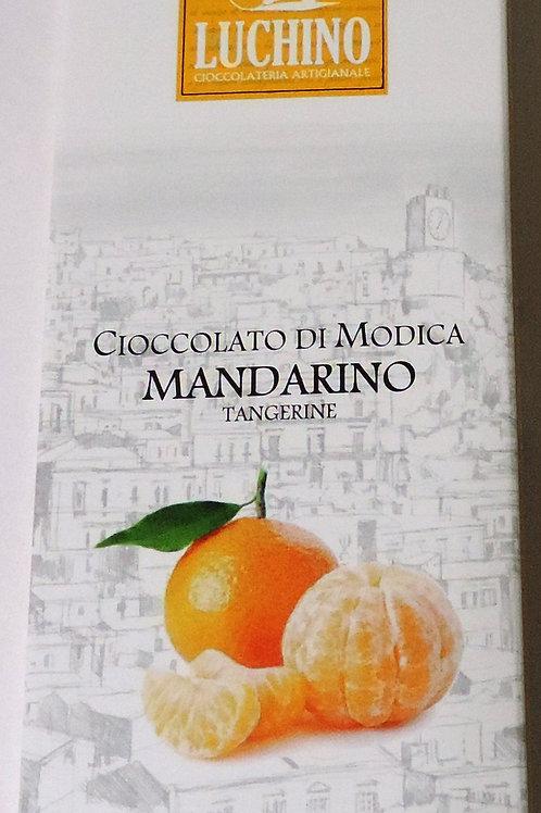 CIOCCOLATO DI MODICA AL MANDARINO 100G