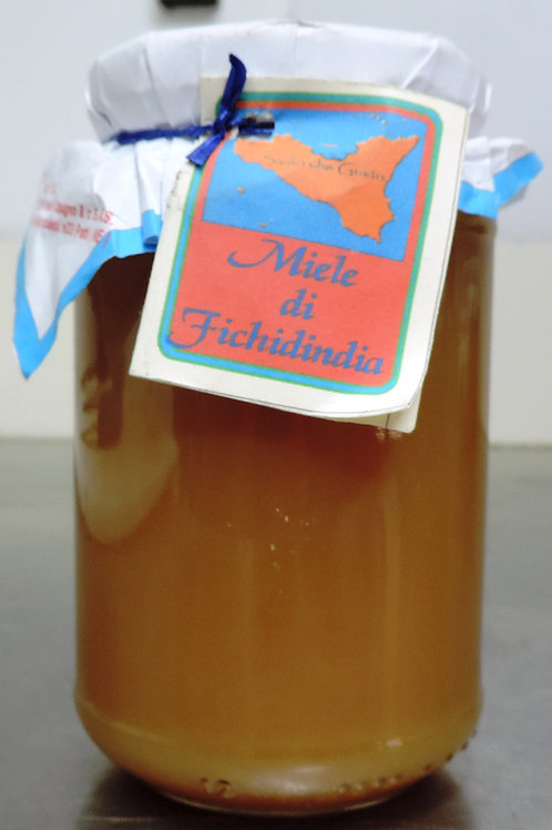 miele di fico d india ZAFFERANA ETNEA  500g