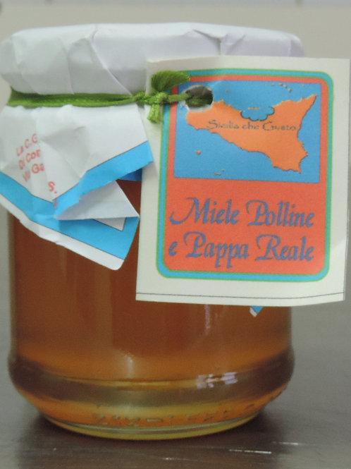 Miele Polline e pappa reale Sicilia che gusto 250 g