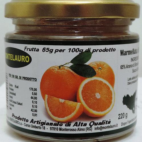 marmellata arance prodotto artigianale di alta qualità 220 g