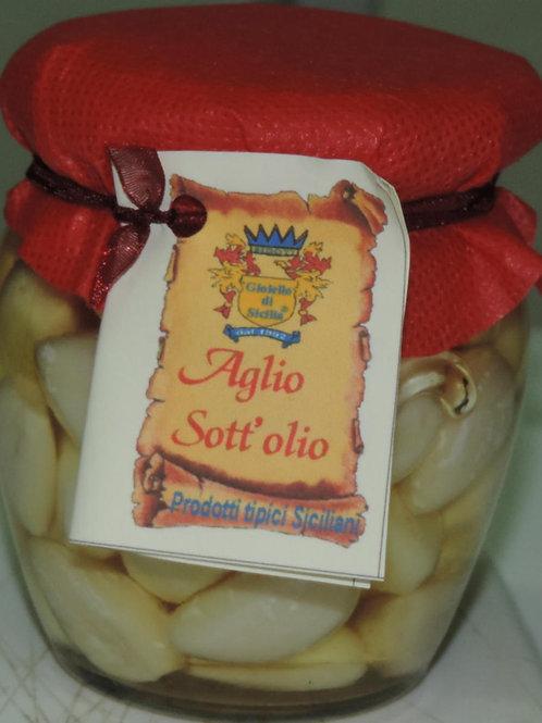 aglio sott olio 200 G