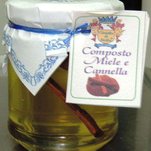 COMPOSTO MIELE E CANNELLA 250 G