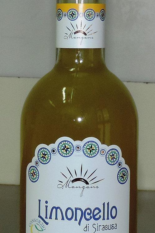 """limoncello di siracusa liquore con """"limone di siracusa I.G.P. 50 CL"""""""