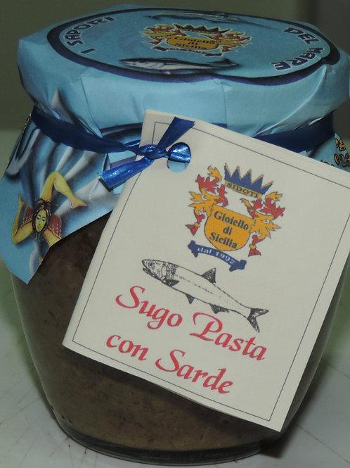 SUGO PASTE CON SARDE SICILIANO SICILIA 200 G