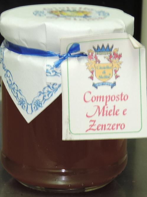 COMPOSTO MIELE E ZENZERO 250 G